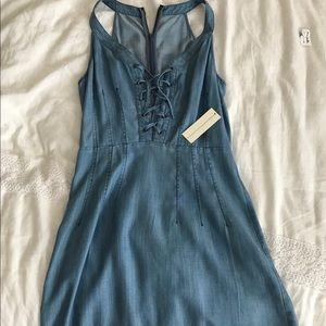 Jean dress - never been worn!